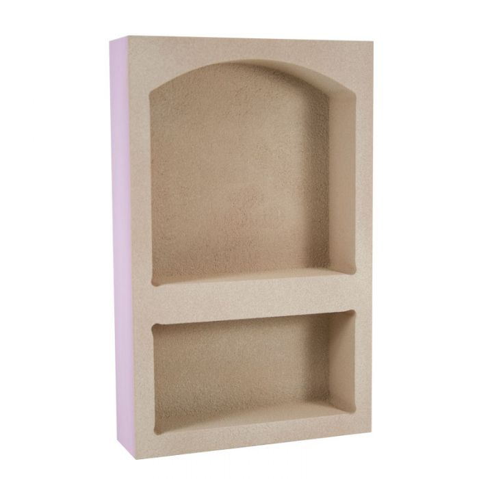 Noble #303 Wide Arched Combo Shower Niche