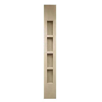 Noble #2781 4-Shelf Corner Shower Niche