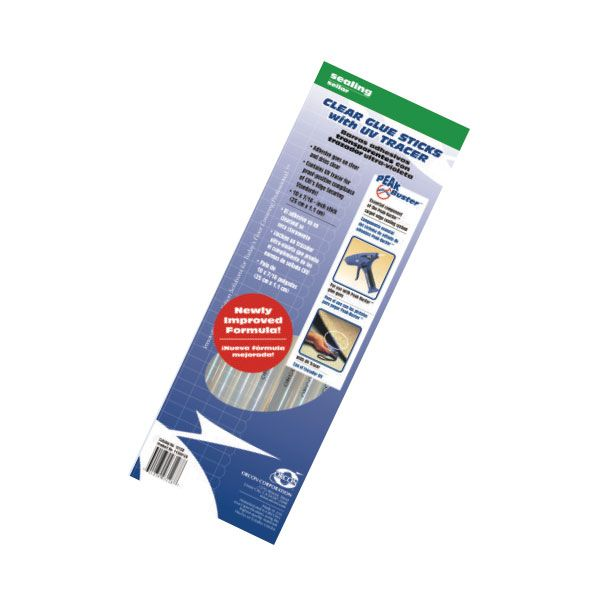 Orcon 13320 Clear Glue Sticks w/UV Tracer (8 Pack)