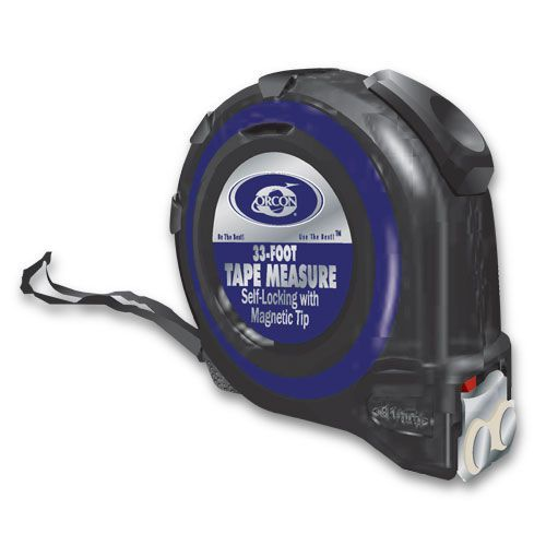 Orcon 13410 33' Magnetic Tape Measure