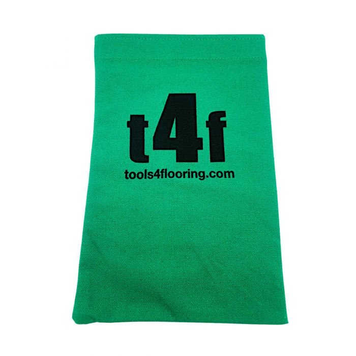 T4F Green Nail Bag w/Velcro Closure
