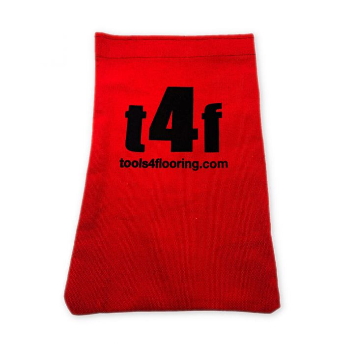 T4F Red Nail Bag w/Velcro Closure